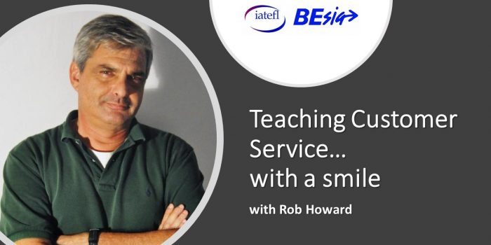 Teaching Customer Service … With A Smile With Rob Howard