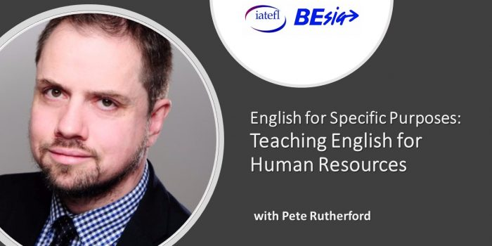 English For Specific Purposes: Teaching English For Human Resources With Pete Rutherford