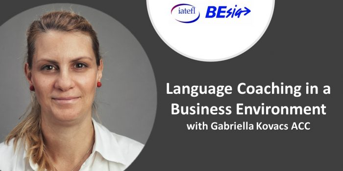 Language Coaching In A Business Environment With Gabriella Kovács