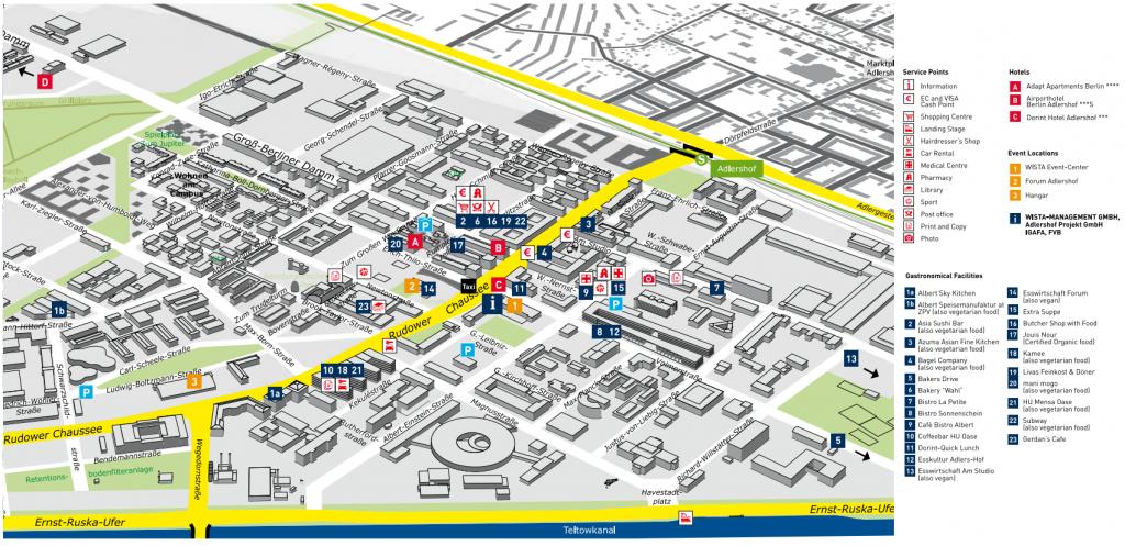 Adlershof Food Map
