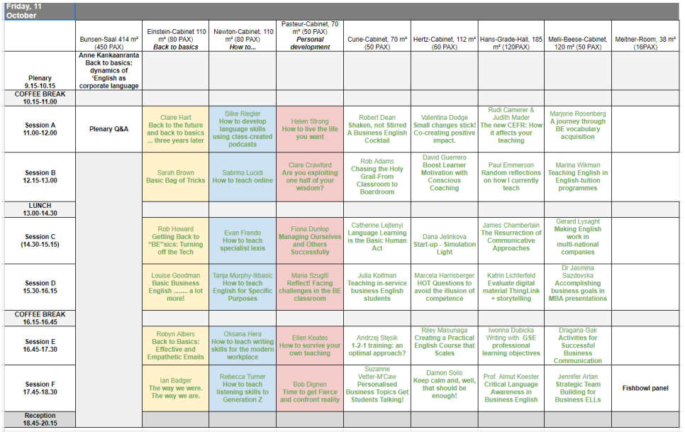 Excel Schedule 8-8-2019