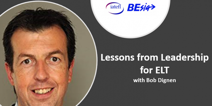 Lessons From Leadership For ELT With Bob Dignen
