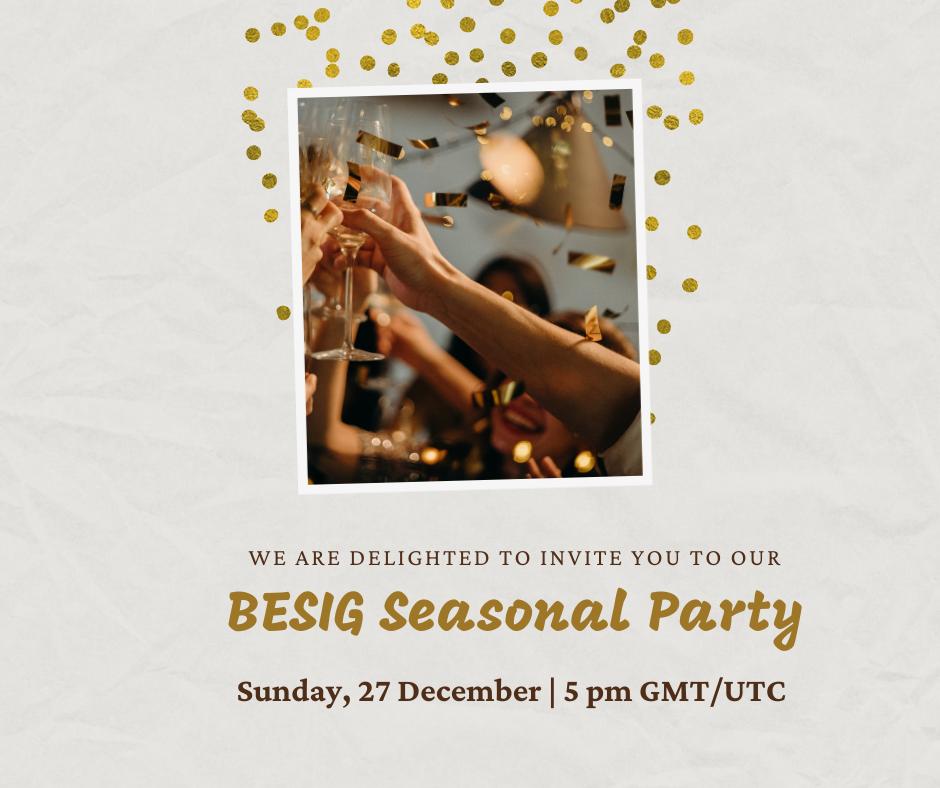 BESIG Seasonal party FB