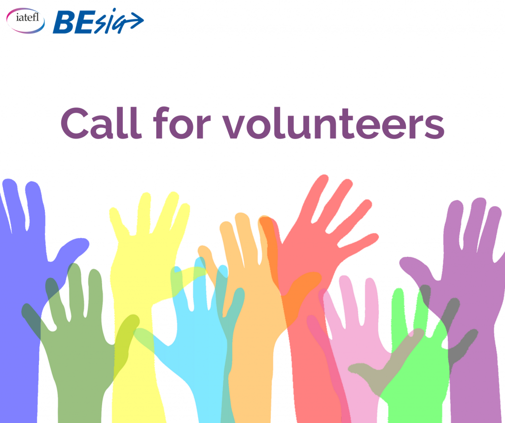 Flyer for the Call for Volunteers Summer 2021
